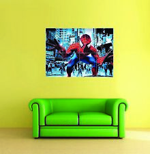 Spider Man Edge Of Time In Your Face Comic Hero Giant Art Print New Poster