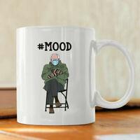 Funny Bernie Sanders Mittens Mood Meme Coffee Mug