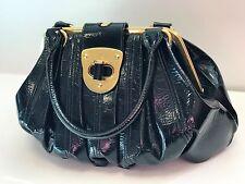 Genuine *Alexander McQueen* Black & Gold Elvie Bag - Perfect Condition