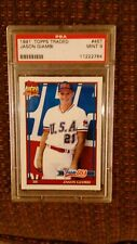 PSA 9 - Jason Giambi Rookie Card-  PSA 9 - 1991 Topps Traded #45T RC Team USA