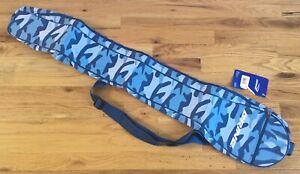 *NEW* Brine Women's Blue Camo Lacrosse Stick Bag w/ Shoulder Strap *NWT*