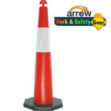 Stack-able conical t-top bollard
