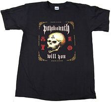 P.O.D. T-shirt POD Payable On Death Will You Nu Metal Tee MEDIUM Black New