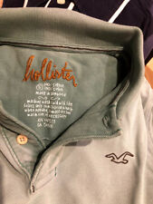 Polo Hollister S Abercrombie distressed discolored wash out desgastado