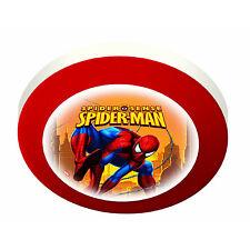 Magic Light Spiderman Kinder Kinder Schlafzimmer Rund Wand Deckenlampe