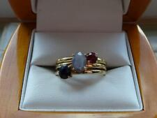 Stackable Sapphire Fine Rings