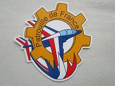 AUTOCOLLANT STICKER ARMEE AIR ALPHA JET MECANICIEN MECANO PATROUILLE DE FRANCE