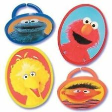 Sesame Street Cupcake Rings Party Favour (Pack of 8)