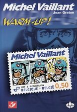 RARE PHILABÉDÉ EO N° JEAN GRATON + 2 MICHEL VAILLANT INÉDITS + TIMBRE  WARM-UP !