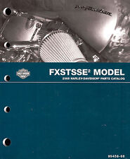 2008 HARLEY-DAVIDSON FXSTSSE2 SOFTAIL SPRINGER PARTS CATALOG MANUAL -NEW SEALED