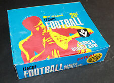 1981 Scanlens Unopened Box - 60 packets  Football Bubble Gum VFL r