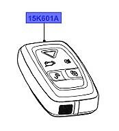 LAND ROVER GENUINE PART REMOTE CONTROL SYSTEM-Discovery 3,4-L319-LR024096-315MHZ