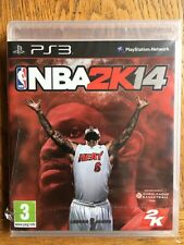 NBA 2K14 (medium tear in cellophane) - PS3 UK Release New!