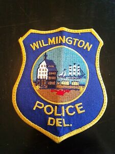 Wilmington,Delaware police patch