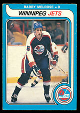 1979 80 OPC O PEE CHEE HOCKEY #386 BARRY MELROSE EX-NM RC WINNIPEG JETS ROOKIE