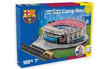 Oficial Barcelona CAMP NOU Stadium 3D Puzzle Rompecabezas Modelo del club de fútbol España
