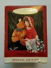 Hallmark Keepsakes Christmas Ornament Julianne & Teddy Special Edition 1993 74