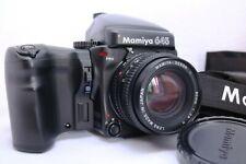 [Near Mint] Mamiya 645 Pro w/Sekor C 80mm f2.8N Lens+120 film back x2 #0610