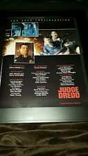 Judge Dredd Rare Academy Awards Consideration Promo Poster Ad Framed!
