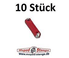 10x Sicherung 16A rot Schmelzeinsatz Keramiksicherung passend f. MZ Simson
