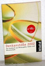 DENKANSTÖßE 2002 - Ein Lesebuch - Angela Hausner (Hrsg)