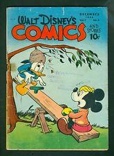 Walt Disney Comics & Stories #75-Golden Age 1946; Donald Duck Vintage; Dell