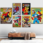 """24""""x36"""" Size Comic Movie Wall Art Canvas Painting Poster Decor Print No Frame"""
