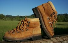 Vintage Wolverine Wilderness Pigskin Women's Hiking Boots Made in Usa 7 1/2