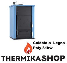 Caldaia a Legna Poly 31kw