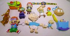 Viacom Burger King 1998 Wind Up Plastic Rugrats Action Figures Toys Lot Watch
