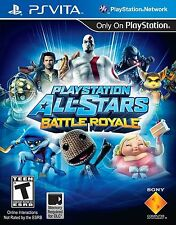 PlayStation All-Stars Battle Royale (PlayStation Vita, PSV) Brand New