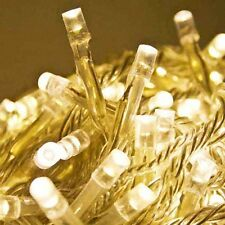 3 metre LONG 20 bulb Warm White LED fairy party light lead string AUS main power
