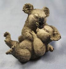Koalabär bären gruppe figur tierfigur hund castagna