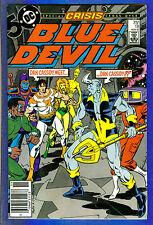 BLUE DEVIL # 18  - 1986 DC (fn)  Crisis Cross-over
