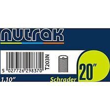 Nutrak 20 X 1.1 Inch Schrader Inner Tube Black