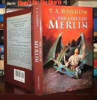 Barron, T. A.  THE FIRES OF MERLIN Lost Years of Merlin 1st Edition 2nd Printing