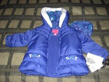 London Fog 24M Rn 15101 Kids Hooded Jacket & Hat -100% Polyester - New With Tags
