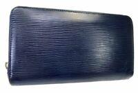 Auth Louis Vuitton Epi Leather Zippy Zip Around Long Wallet purse 5882430