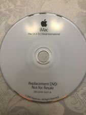 Macintosh Computers iMac OS X 10.5 Retail  Replacement DVD