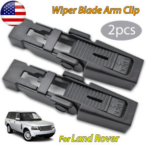2X Front Car Wiper Blade Slide Clip For Land Rover Discovery 2 OE#61618231740 US