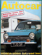 Autocar May 1968 Triumph 1300TC Monza Lotus Indy Turbine - Road Test: Honda N360