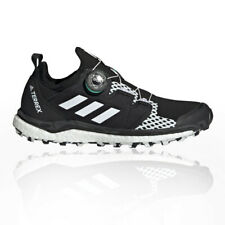 adidas Womens Terrex Agravic Boa Trail Running Shoes Trainers Sneakers Black