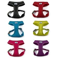 More details for ancol comfort dog padded harness - viva adjustable mesh puppy walking harnesses