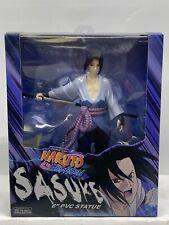 """Naruto Shonen Jump Shippuden Sasuke 6"""" Pvc Statue New Toynami Viz"""