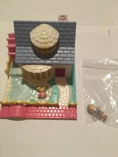 Vintage Polly Pocket Grandmas House Pollyville With Figure