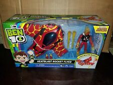 CARTOON NETWORK BEN 10 HEATBLAST ROCKET FLYER BRAND NEW IN PACKAGE