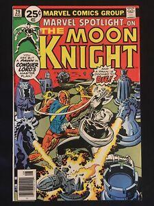 Marvel Spotlight 29 VF 8.0 2nd Solo Moon Knight Story! Moench & Perlin! 1976