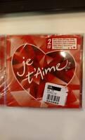 Je T'Aime 2014 (2 CD - aa.vv.) Nuovo e Sigillato
