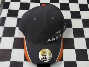 Carl Edwards #19 NASCAR Ball Cap Hat NEW grey orange Arris