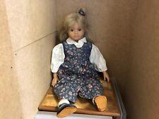 Sigikid Puppe Vinyl Puppe 55 cm. Top Zustand